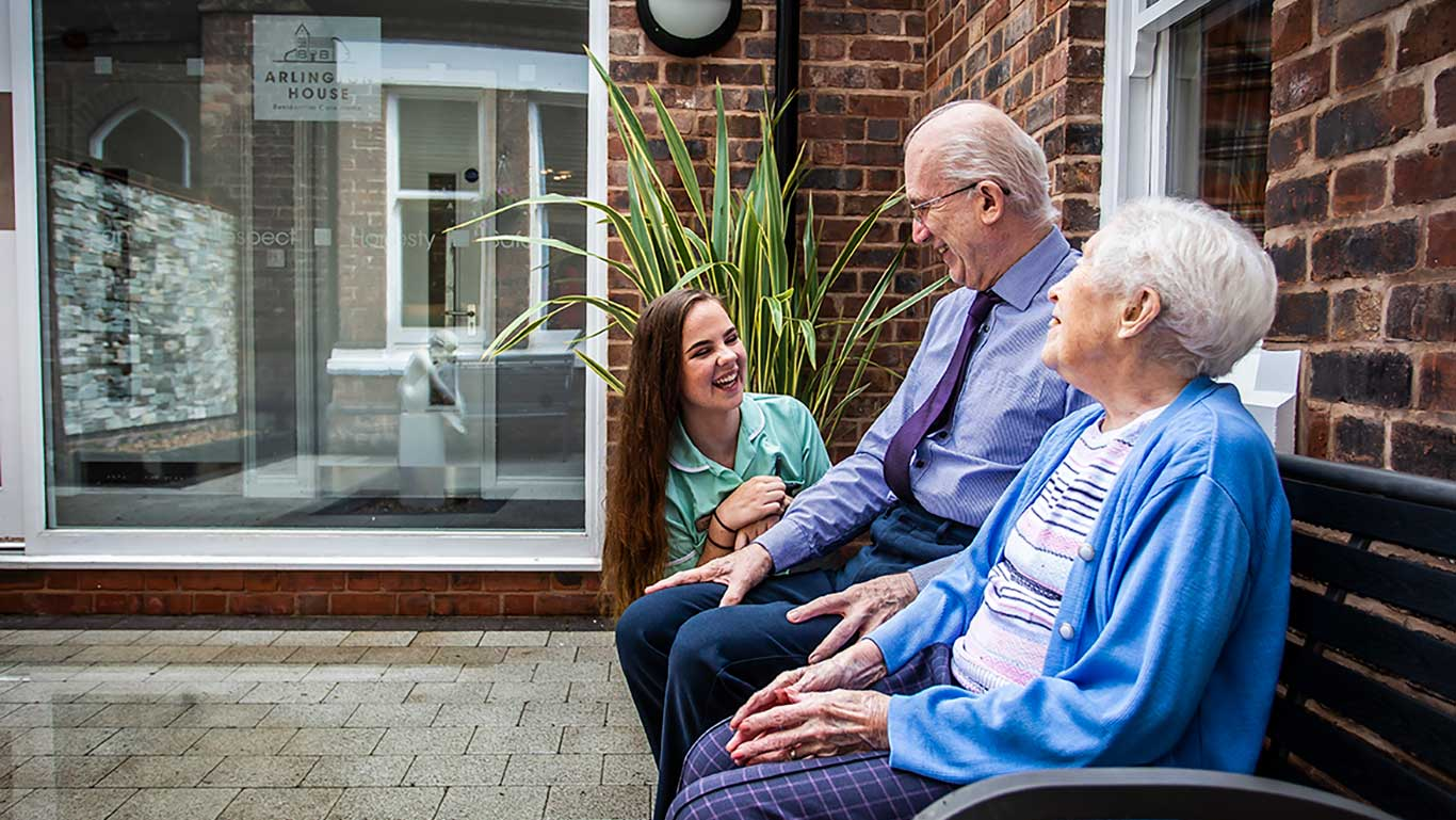 Great people at Arlington House Care Home