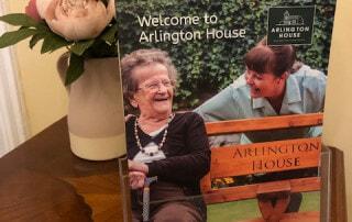The new Arlington House brochure